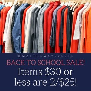 Back to School SALE!! Get Your DEALS Now!